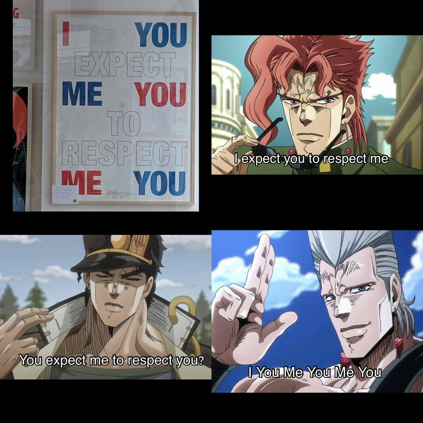 Porra Polnareff - meme