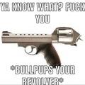 Bullpup tu revolver