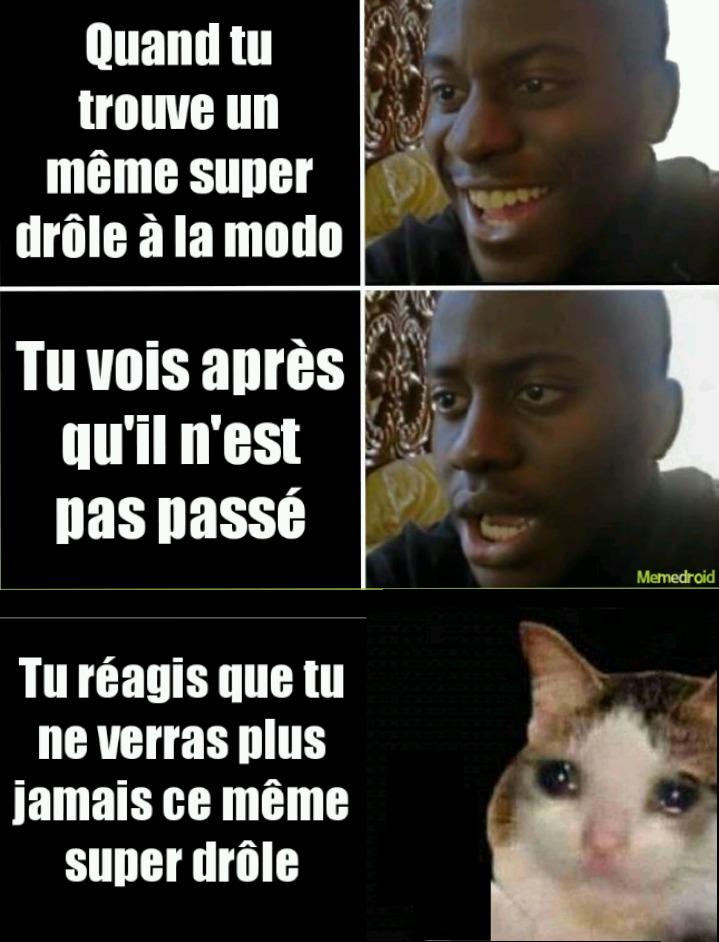 ATTENTION DERNIÈRES TOI - meme