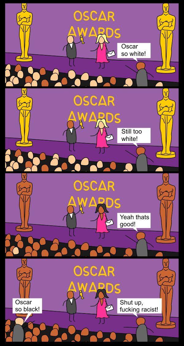 but the Oscar trophy is still golden - meme