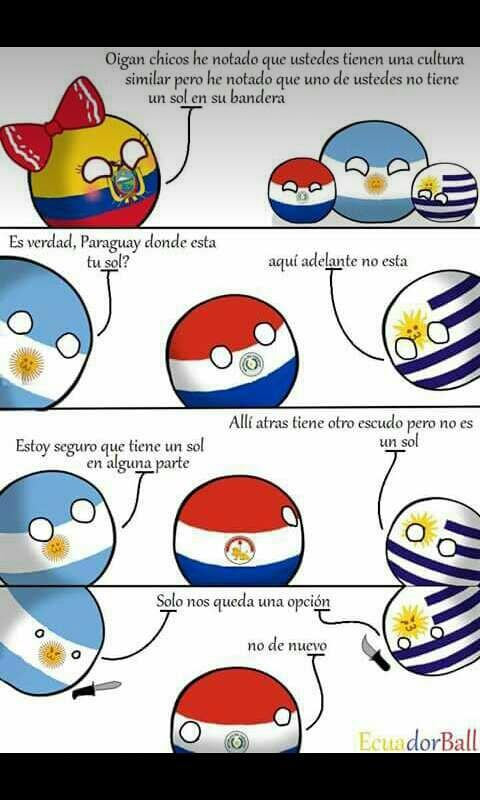 Soy paraguayo :'v - meme