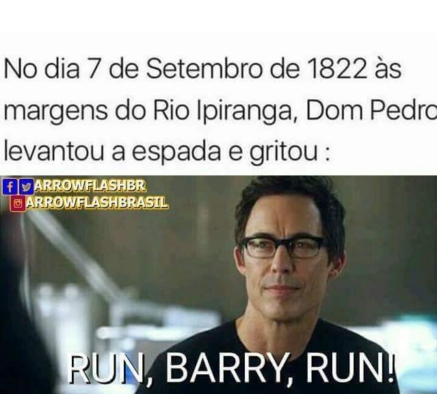 Corre Barry corre - meme