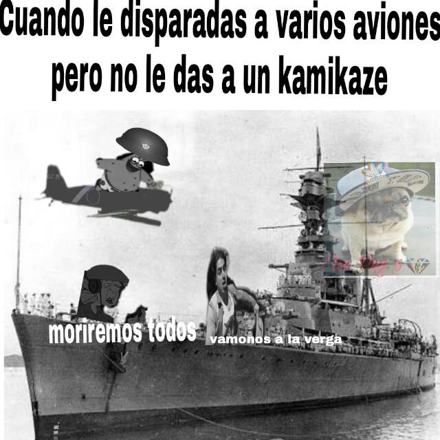 Malditos kamikazes - meme