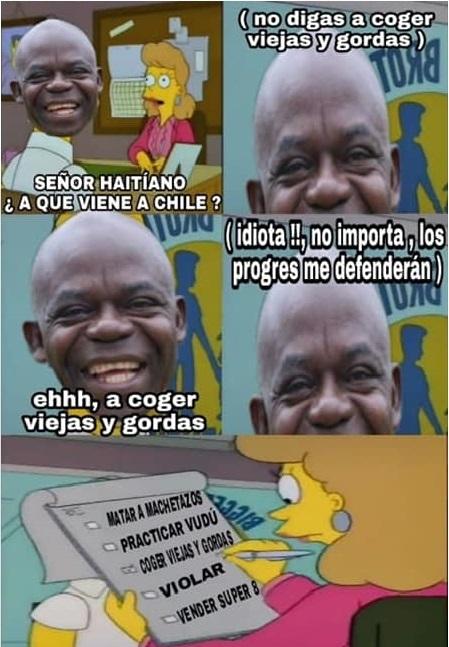 Masisi en Chile - meme