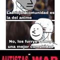 Capitan gay: Autistas War