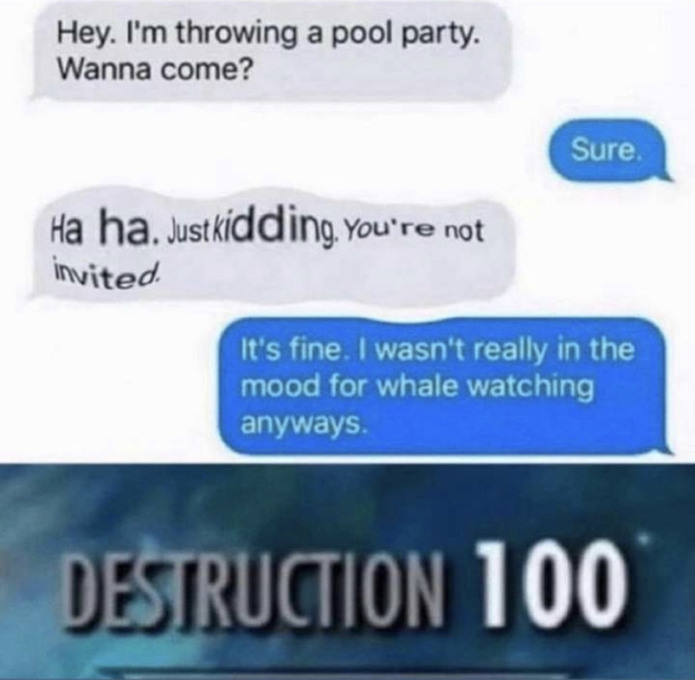 Speech 100 - meme
