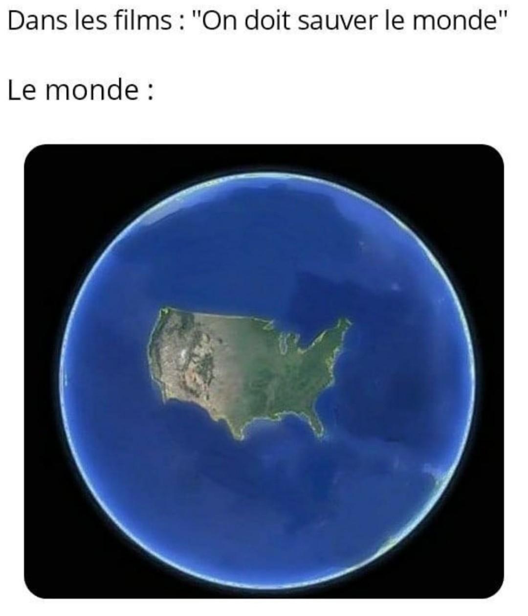 Le monde est petit dis donc - meme