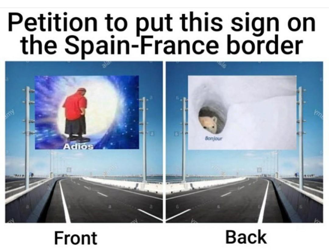 Plz sign here - meme