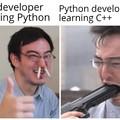 Python is so damn easy breezy