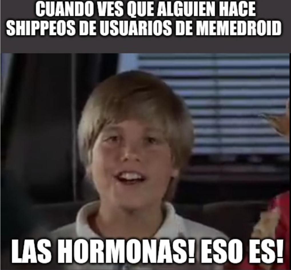 Cuántas hormonas...... - meme