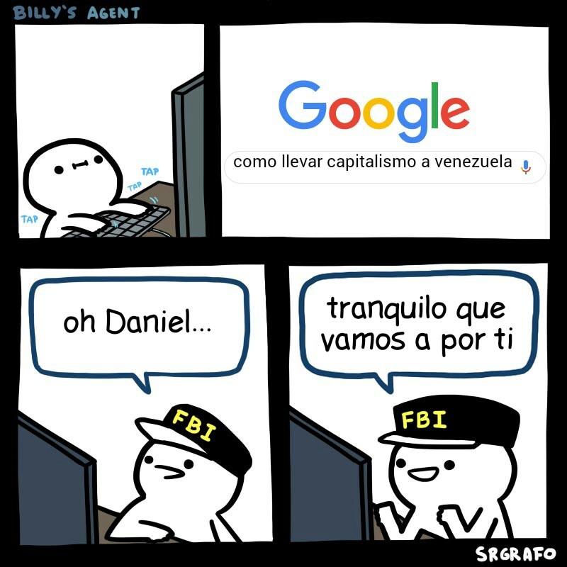 actualmente Daniel esta muerto por el FAES - meme