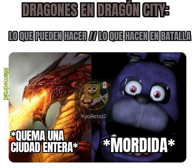 Dragón city - meme