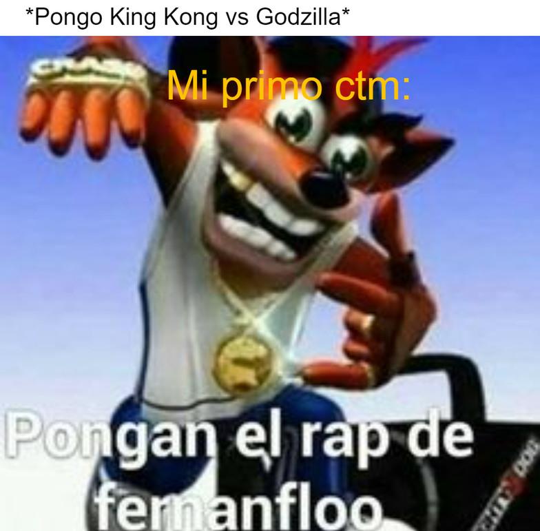 King Kong vs Godzilla - meme