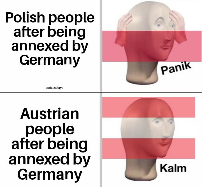 Hitler was Austrian anyway - meme