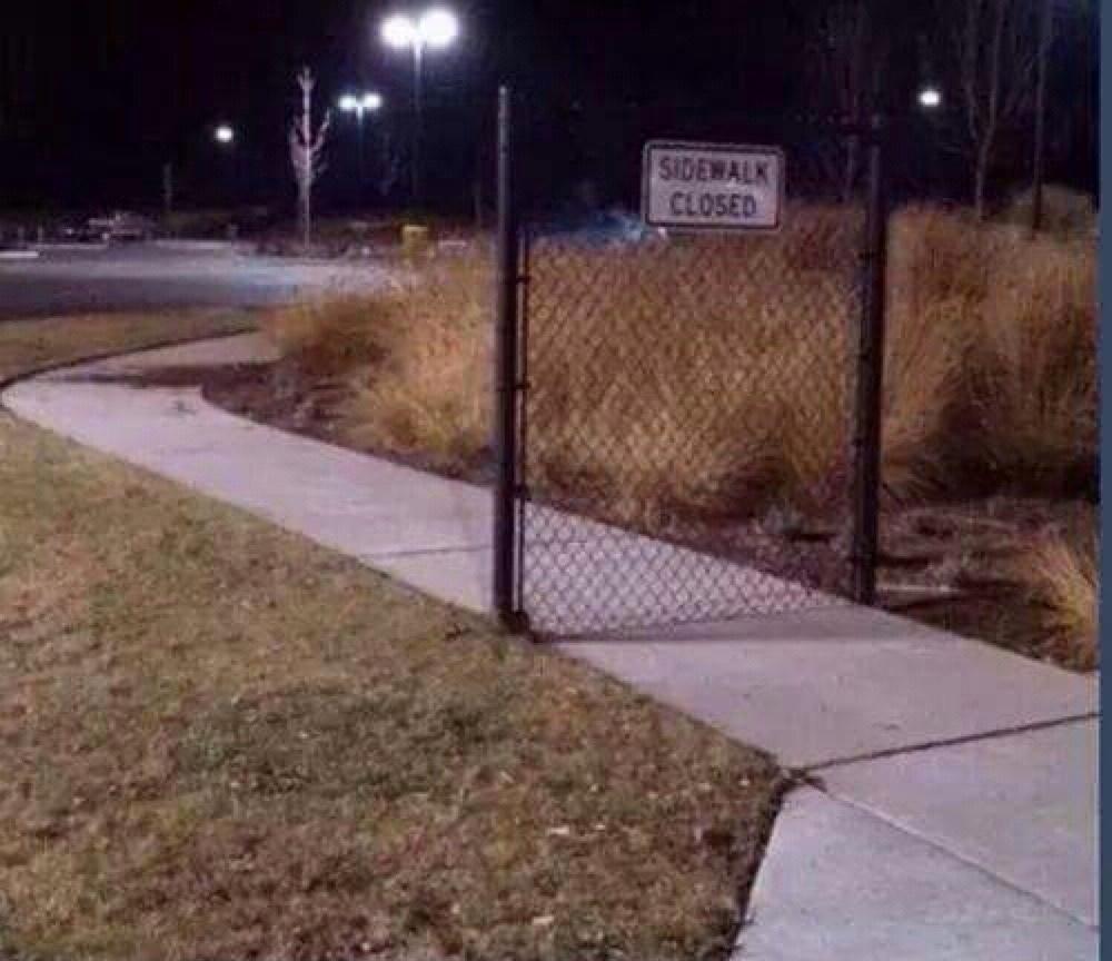 je vous présente la barrière la plus utile au monde - meme