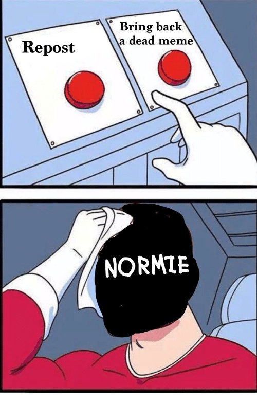 You are a normie and you should be ashamed of yourself - meme