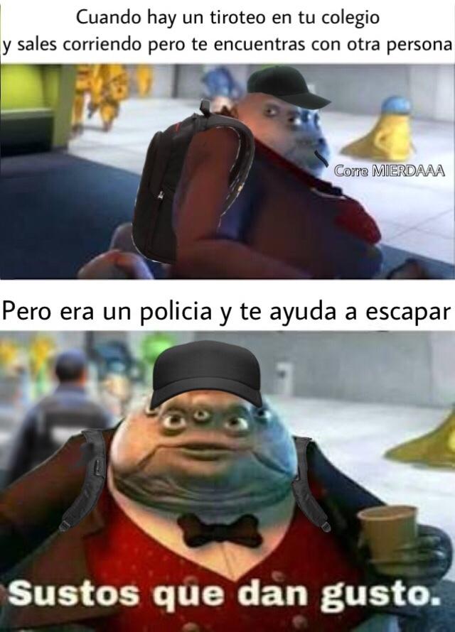 Los policías son buena onda :) - meme