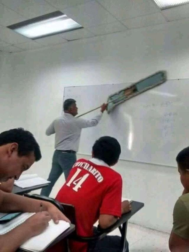 My teacher - meme