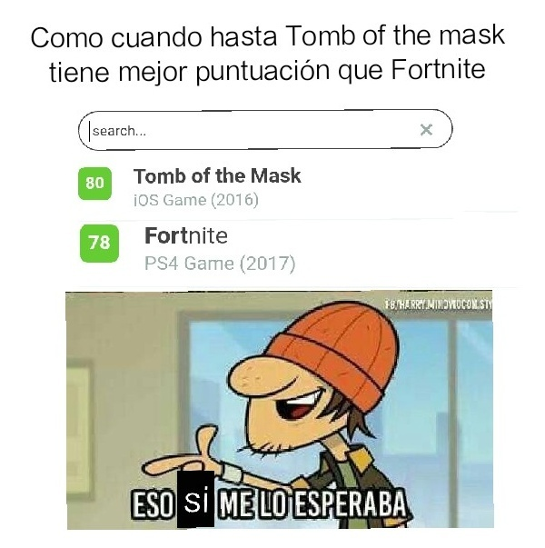 Fortnite es una mierdaaa - meme