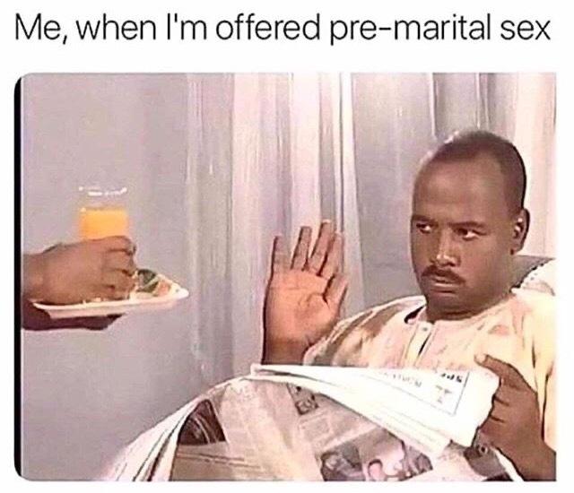 No thanks - meme