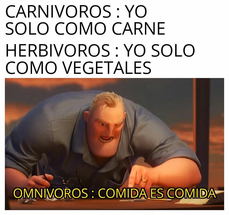 Comida es Comida :D - meme