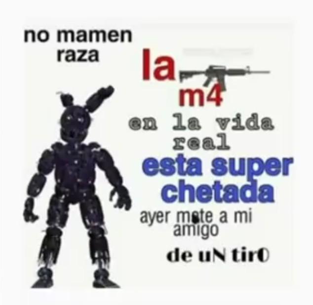 M16 - meme