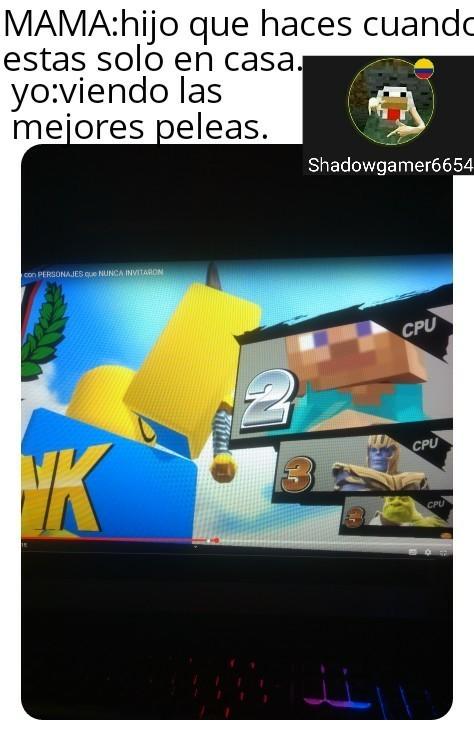 Tremenda pelea - meme