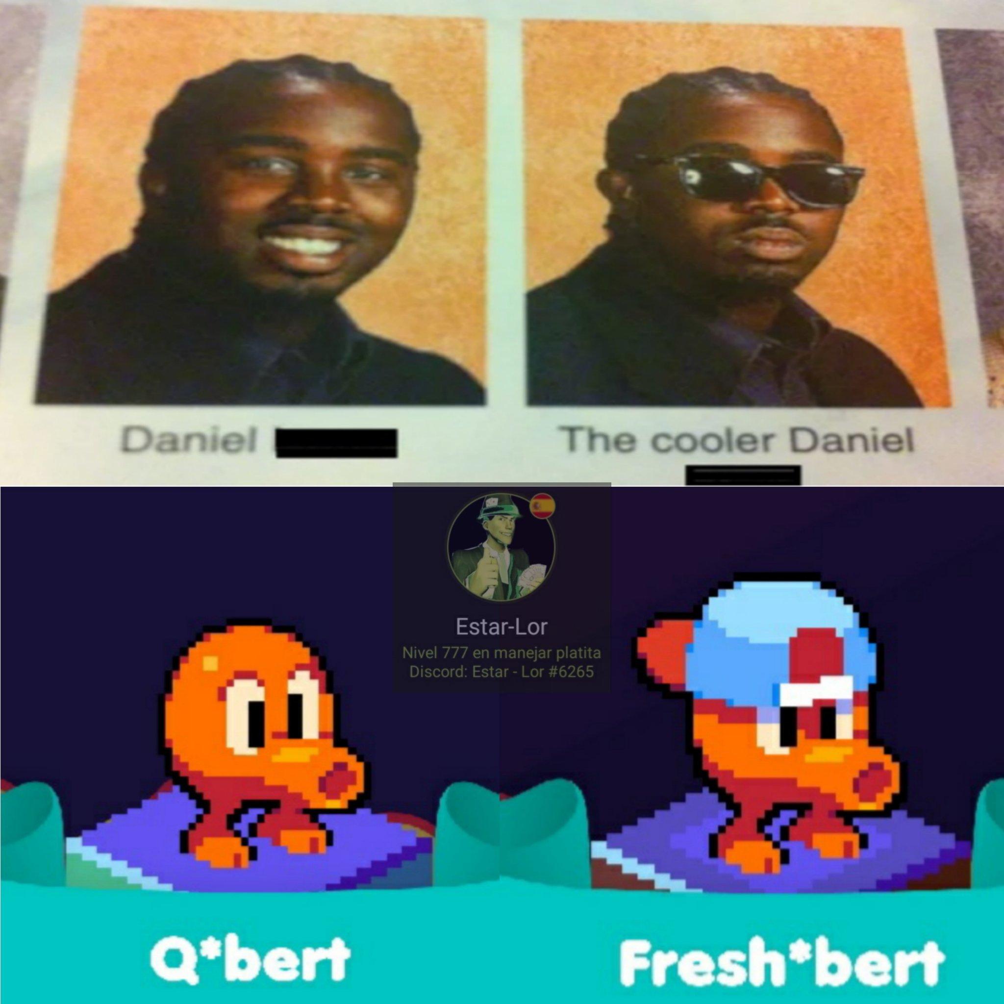 Q*bert está para teléfono - meme