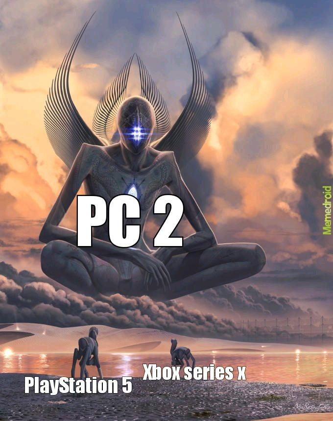 PC 2 sin ideas mierda - meme