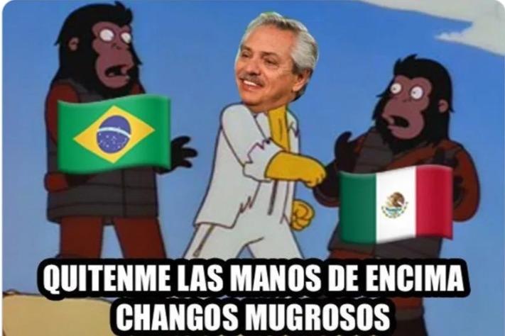 Alberto fernandez - meme