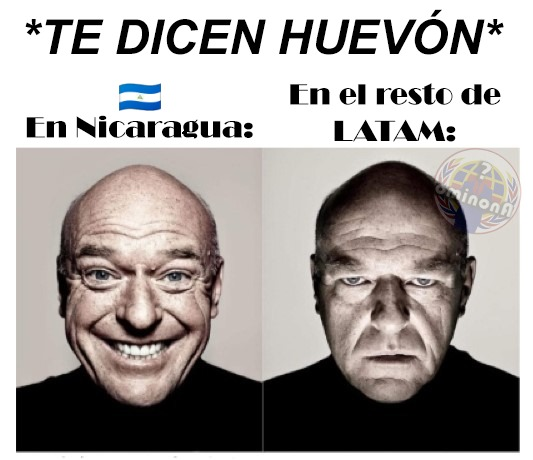 POV: Te dicen huevón en Nicaragua - meme
