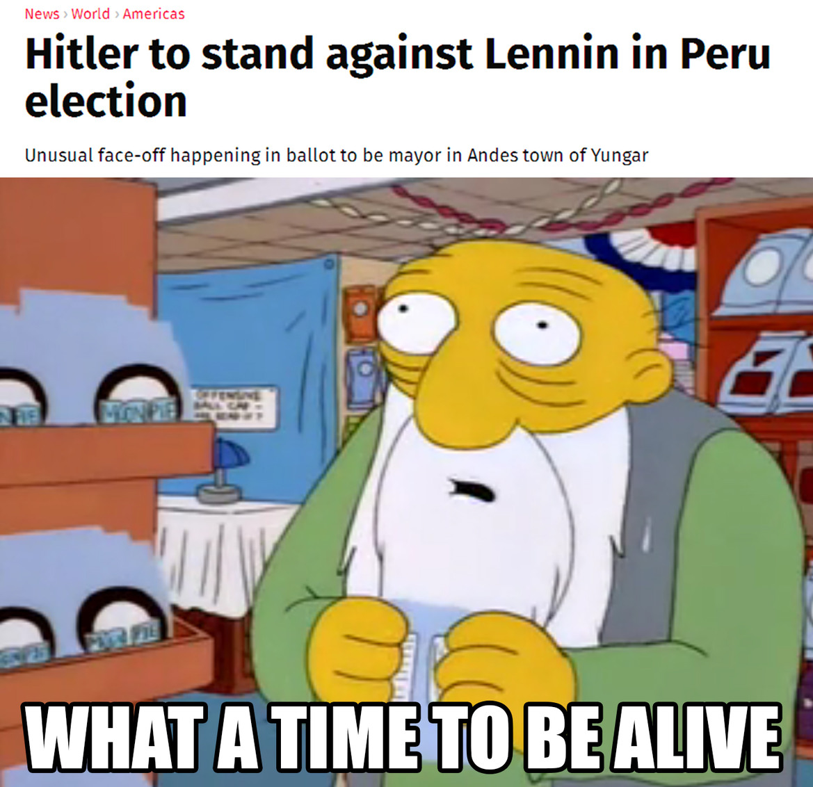 The best time - meme