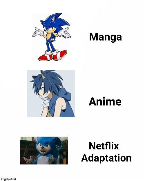 epic sonic title - meme