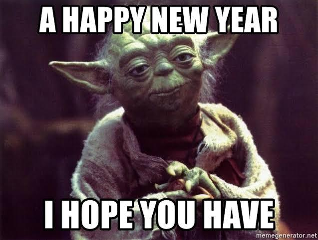Happy new year 2020....so on - meme