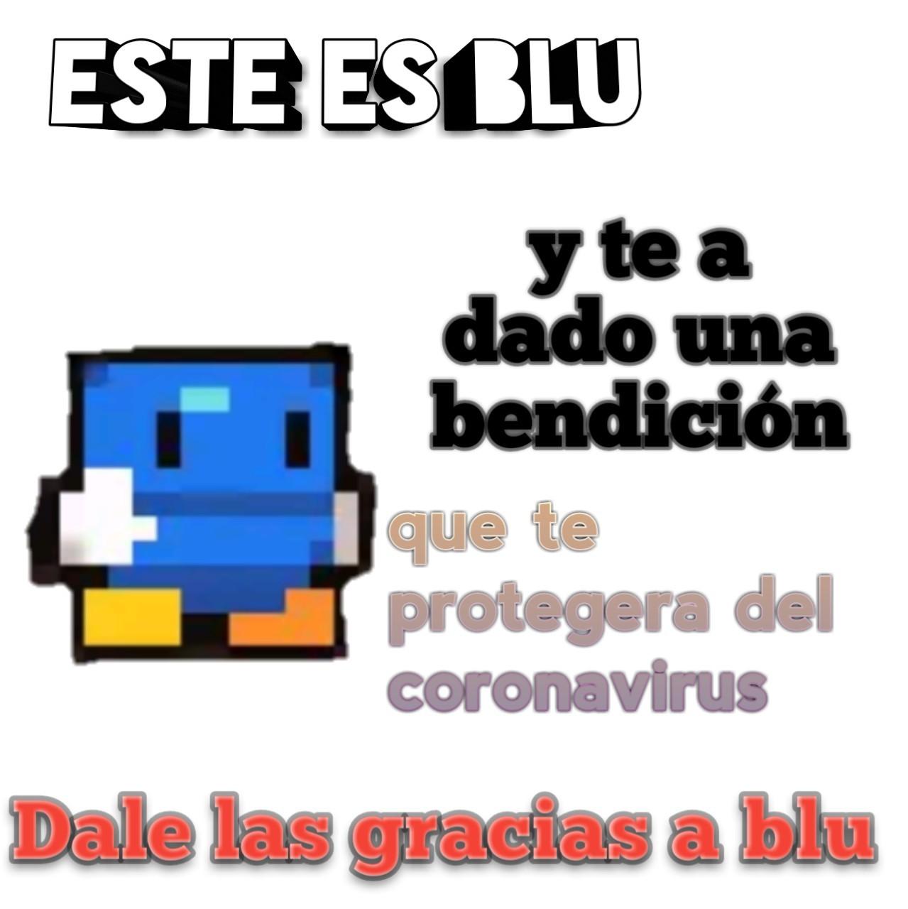 Blu - meme