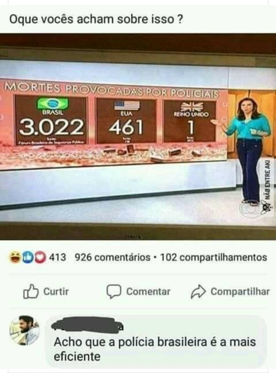 Brasil sempre em primeiro lugar - meme