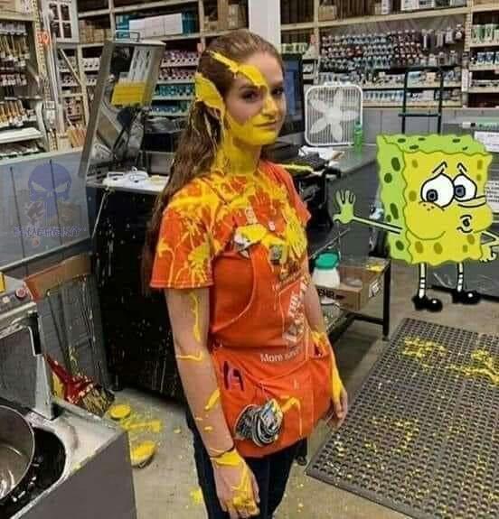 Sponge jizz - meme