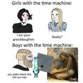 Bruh Time machine
