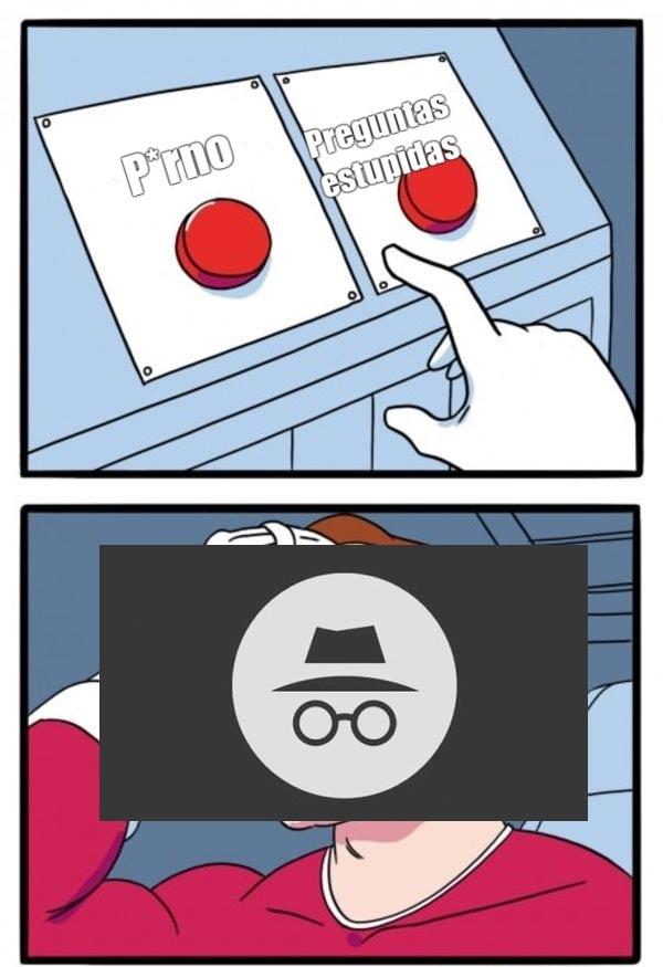 yo lo uso para ambos - meme