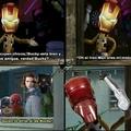 Ese Iron Man y su enemistad con Bucky :'v