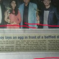 All credit goes to my city newspaper.. .