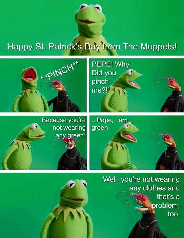 Saint patricks day - meme
