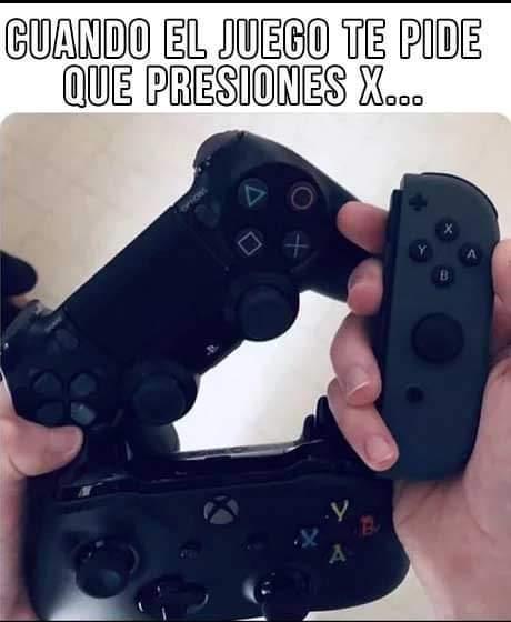 Gamers y sus problemas - meme