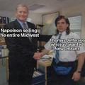 Napoleon got fleeced