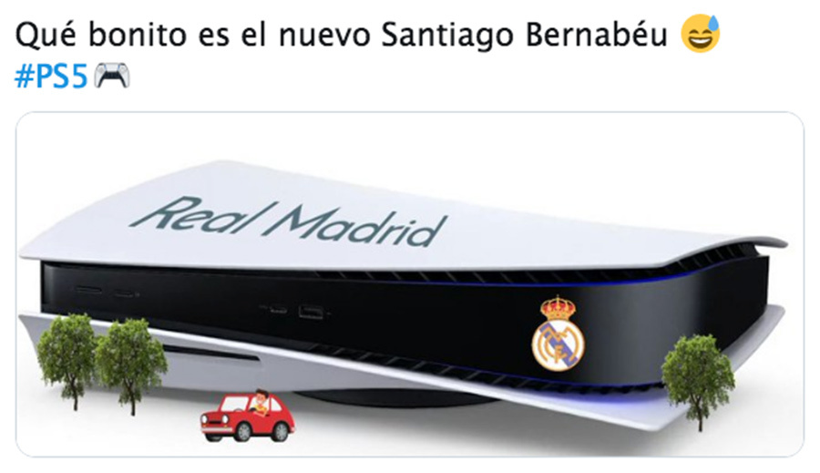 Yo ya reserve el estadio del Real Madrid xD - meme