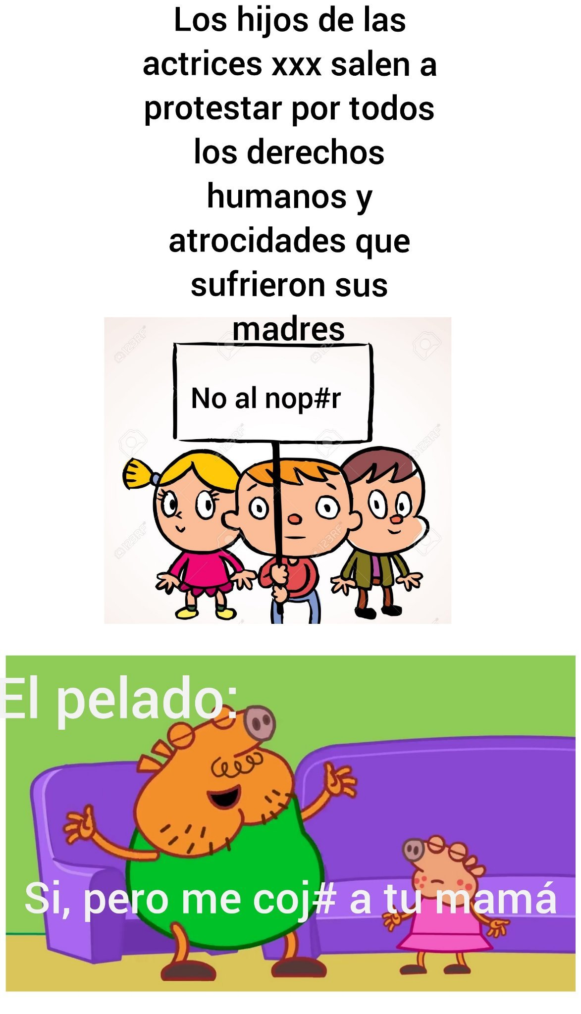 No al nop#r - meme