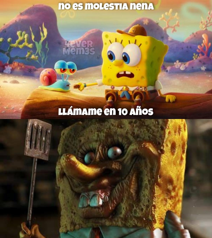 Nooooo Bob esponja - meme