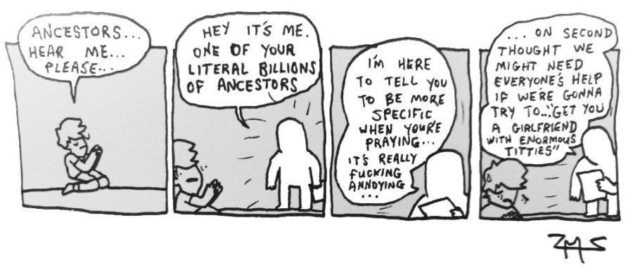 ancestors - meme