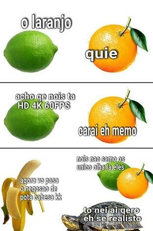 Laranjo e meme