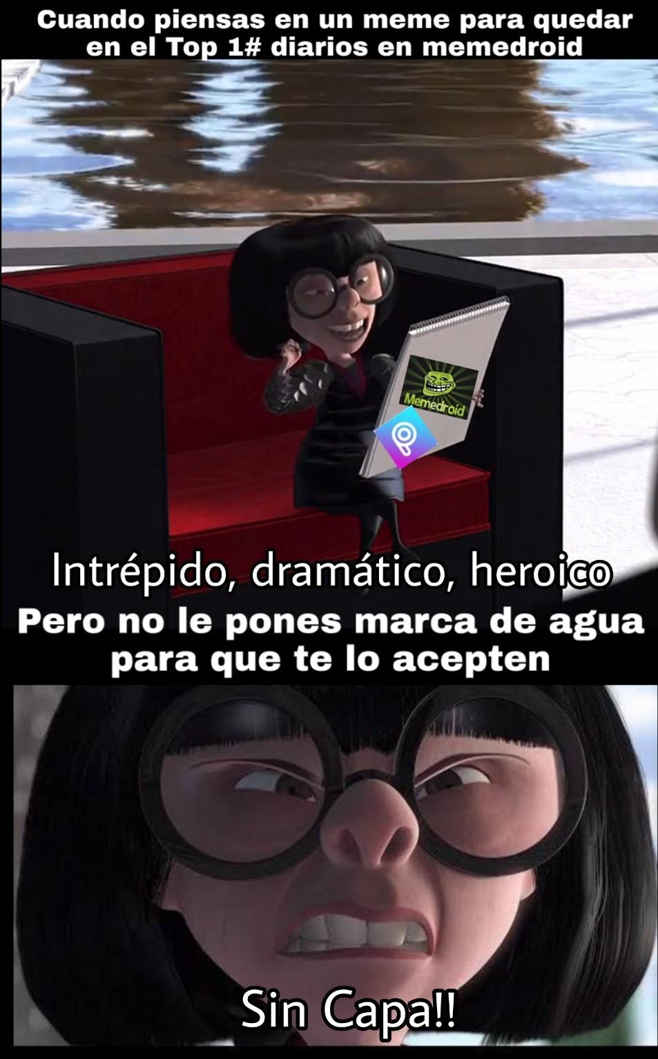 Sin capa, cochinos!! - meme